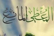 আল্লাহ তা'আলা একাধারে দাতা ও প্রতিরোধকারী।